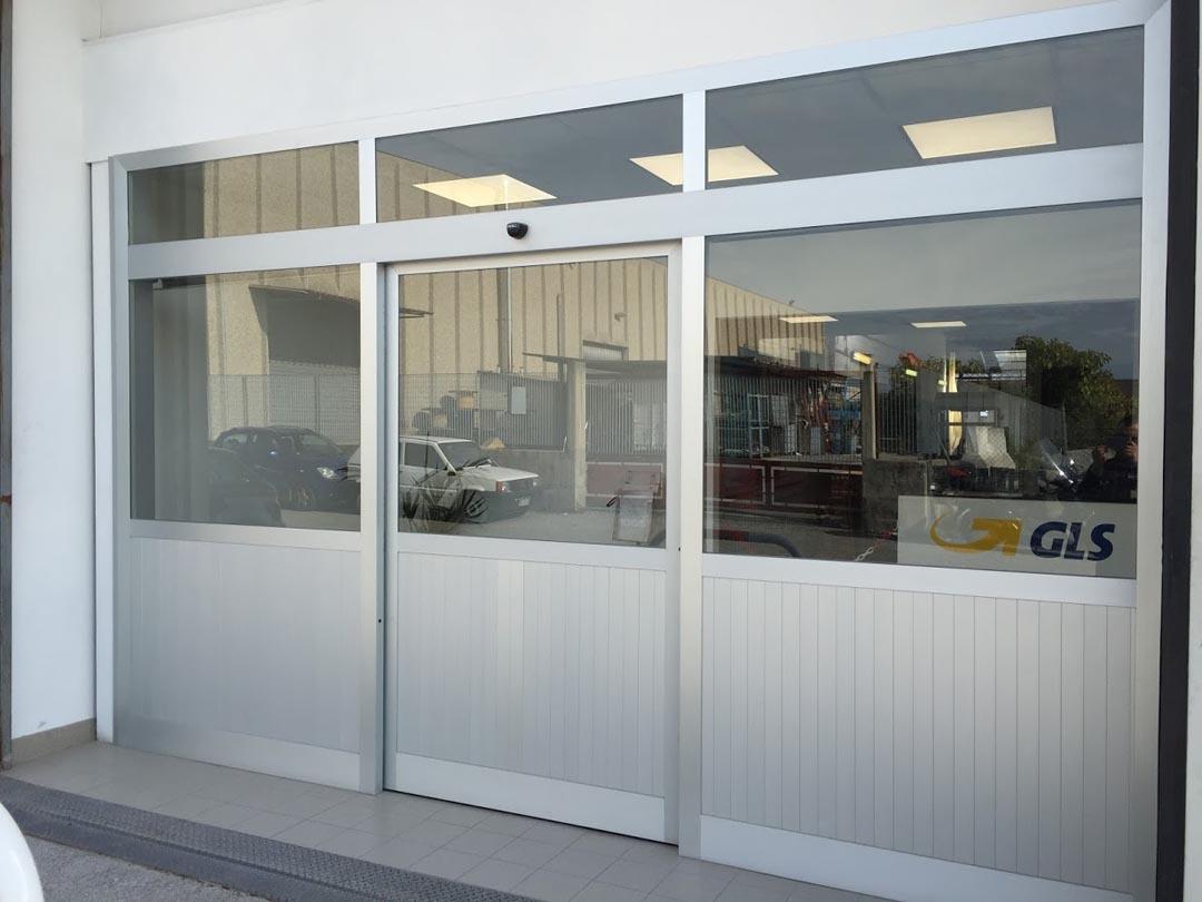 Porte In Alluminio Anodizzato porte automatiche archives - fedi automatismi
